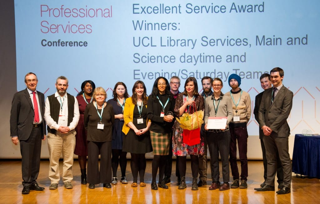 2016 PS Excellent Service Award Winners