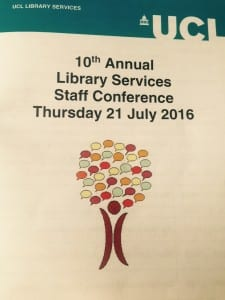 Library Staff Conference 2016