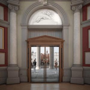 New Portico Doors
