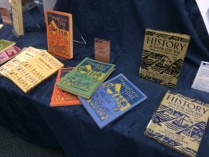 Postwar textbooks from the 1930s to 40s (technology enables mass and cheap colour productions)