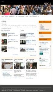 Home page, orange