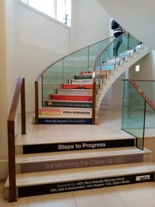 Main Library stairs