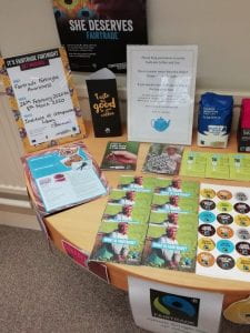 Fairtrade stand