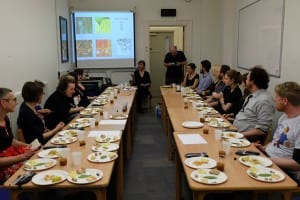 Dinner with Picasso, First workshop, 'The Unspoken Language of Food', led by food writer Sybil Kapoor
