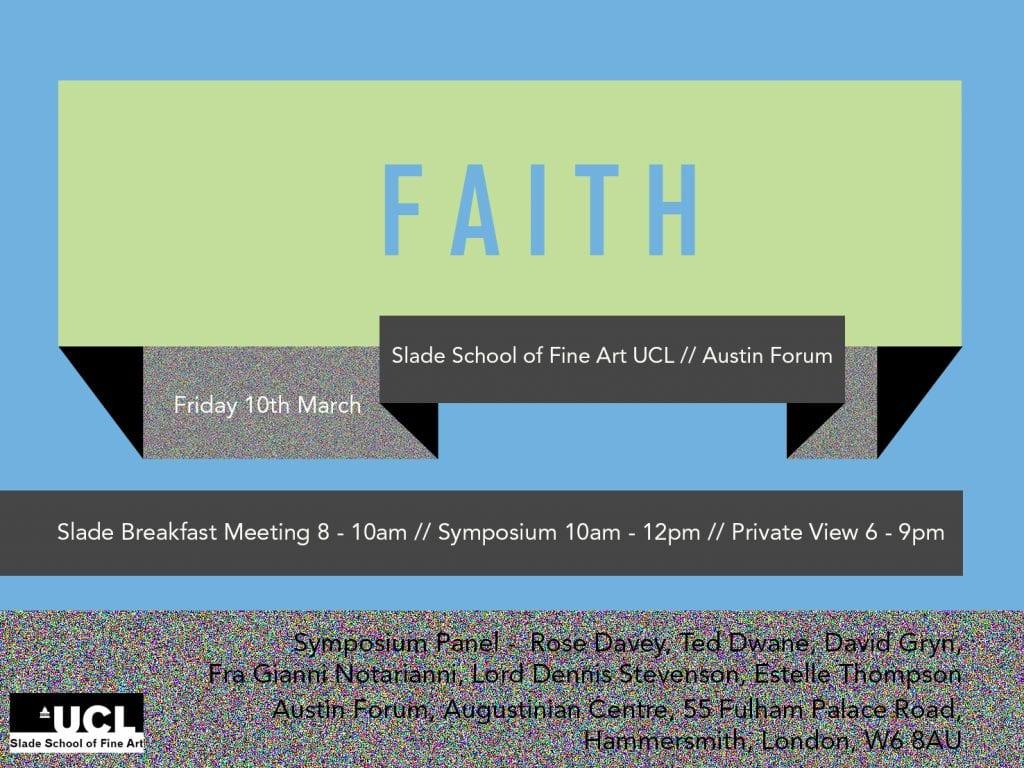 Faith Symposium Invitation