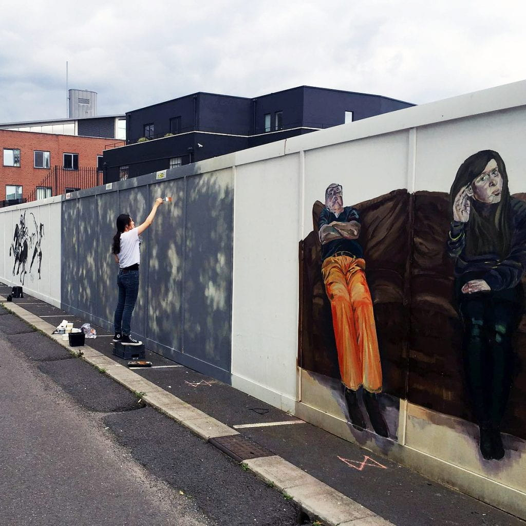 Slade/ColArt White Wall Project