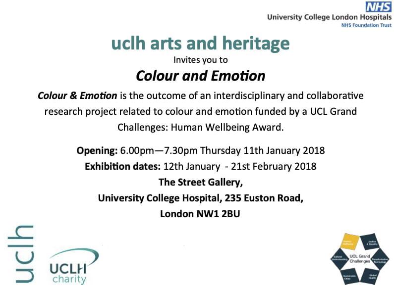 Colour & Emotion invitation (front)