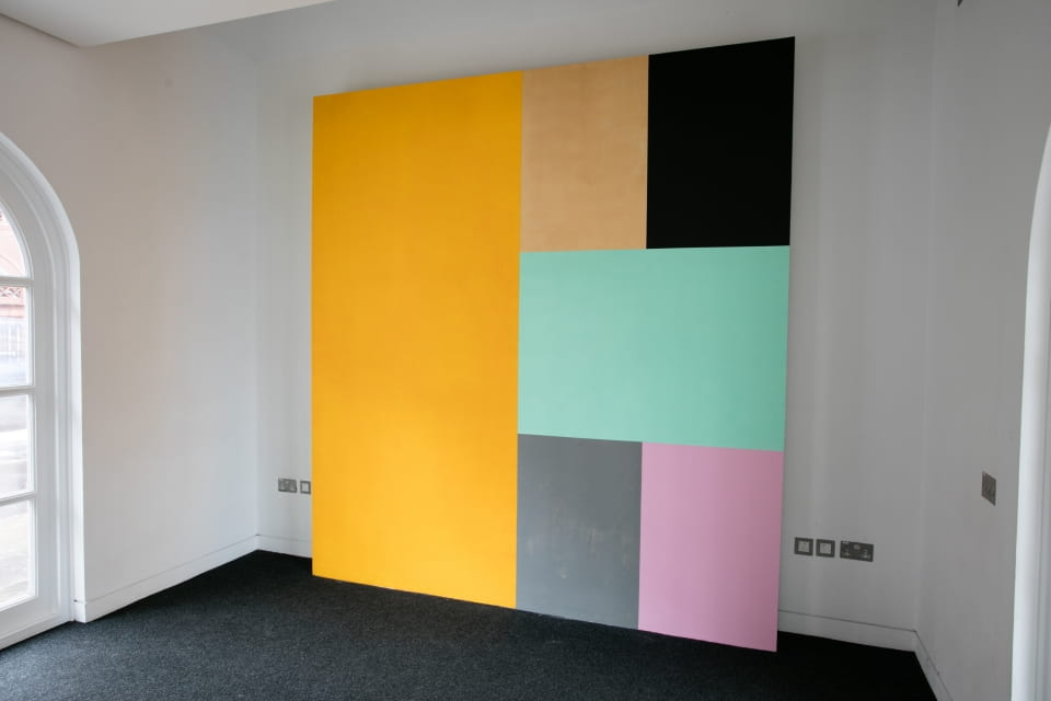 Estelle Thompson, Amongst the Colours, (installation view)