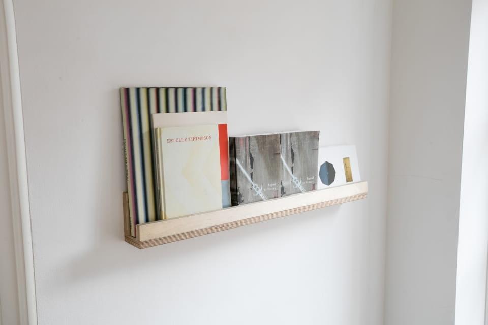 Estelle Thompson, Amongst the Colours, (installation view, shelf)