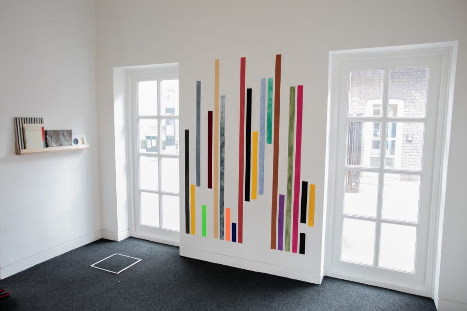 Jo Volley, Amongst the Colours, (installation view)