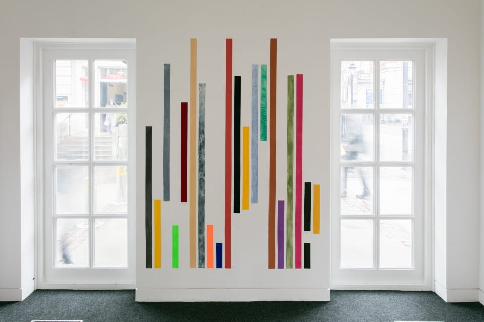 Jo Volley, Among the Colours, (installation view)