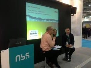 The NBS Sustainability Panel, EcoBuild 2013
