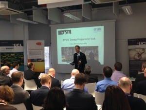 Prof Bob Lowe of UCL-Energy welcomes EPSRC