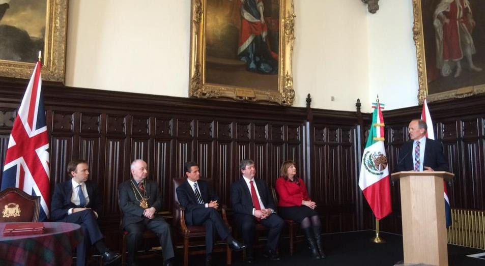 UCL Energy Institute participates in Mexico's President round table on the opportunities of building a sustainable energy economy in the UK and Mexico