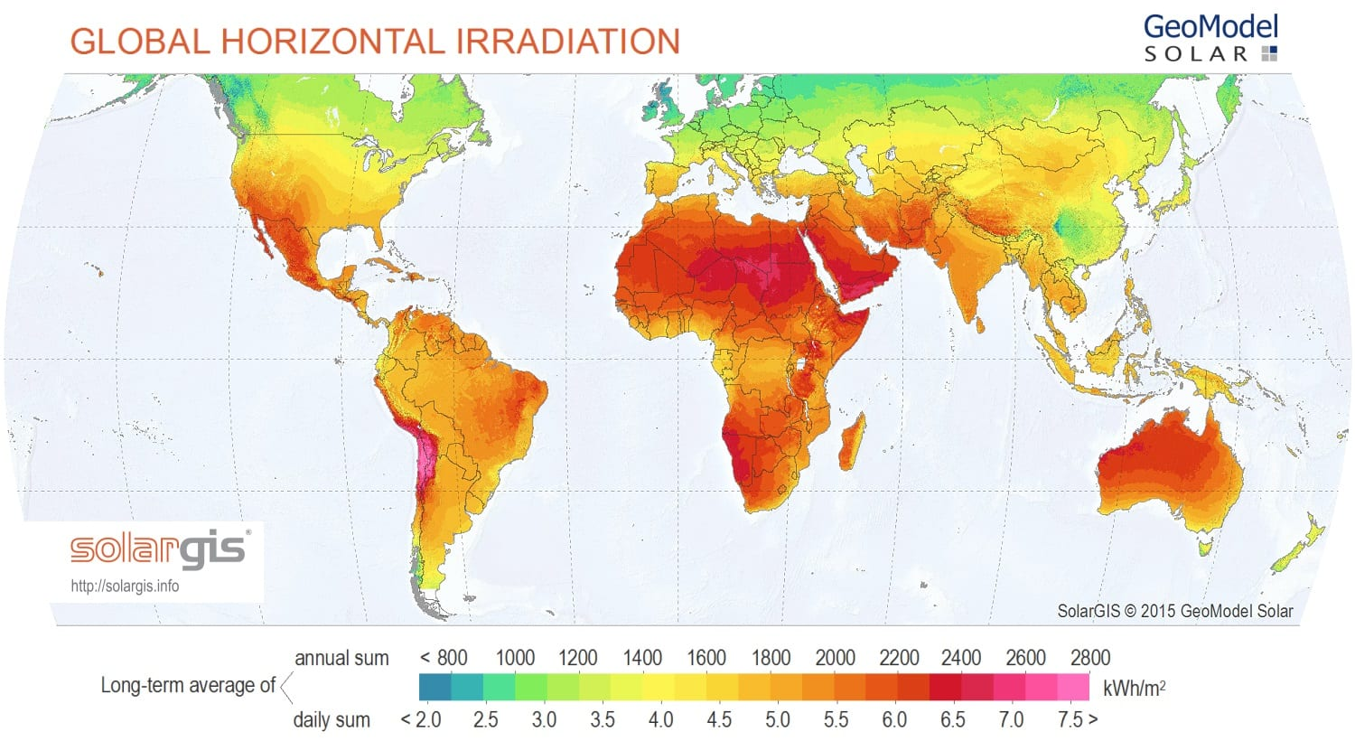 How a global solar alliance can help developing countries ucl solargis solar map world map en most developing countries gumiabroncs Choice Image