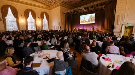 Photo copyright of NCCPE. Engage conference, Edinburgh