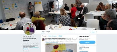 A picture of our new Twitter page @UCL_CoPro