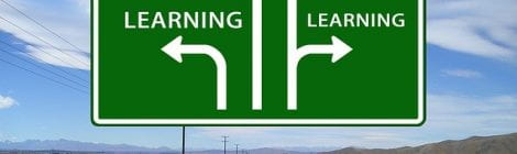 A road sign shows that all roads lead to learning!