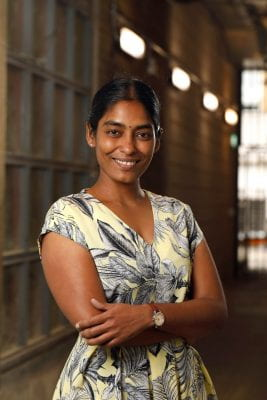 Photograph of Dr. Anna Kuppaswamy by Tom Harrison