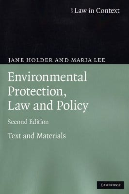 EnvironmentalLawandPolicyHolder