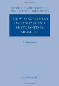 wto-agreement-on-sanitary-phytosanitary-measures-commentary-joanne-scott-hardcover-cover-art
