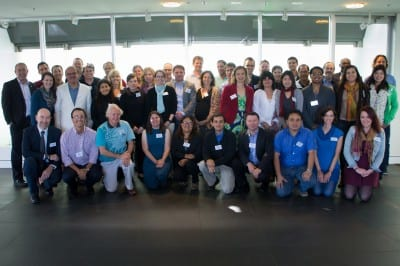 The International Blue Carbon Initiative Scientific Workshop participants at the University of Technology, Sydney May 15, 2013. Photo courtesy of Conservation International.