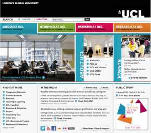 UCL Homepage
