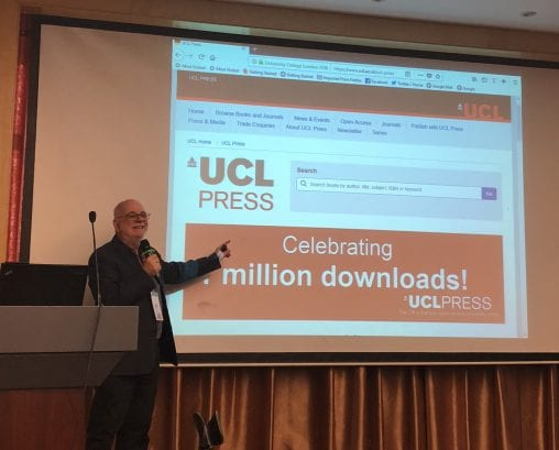 UCL Press 1 Million downloads