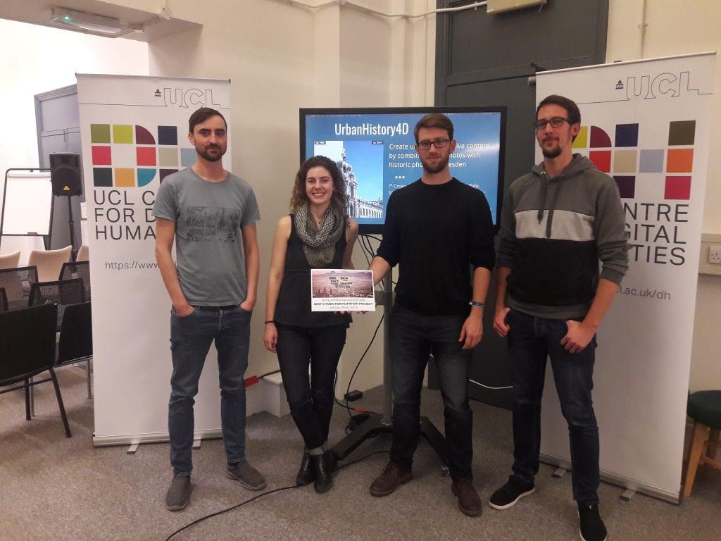 Hackathon prize winners