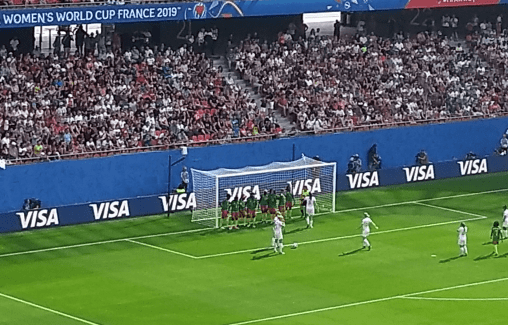 England v Cameroon in the Women's World Cup