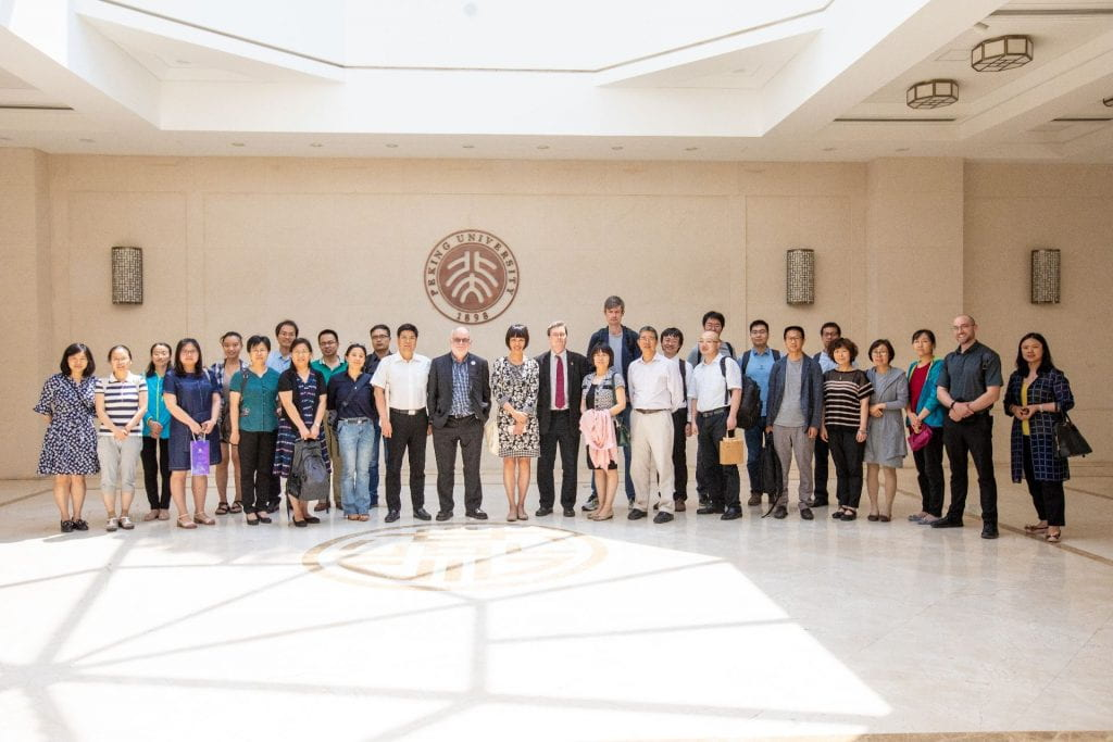 Official group photo for PKU DH Mini Forum