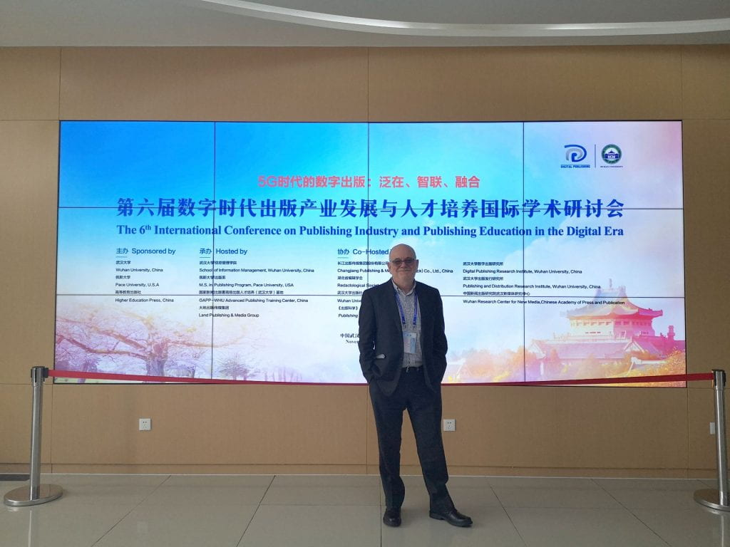 Image of Simon T Wuhan Conference on Publishing in the Digital Age