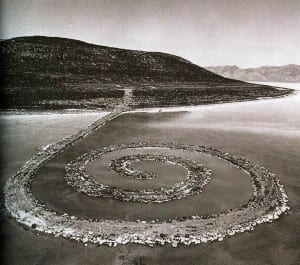 Robert Smithson - Spiral Jetty.