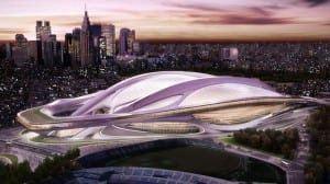 Zaha Hadid's design for 2020 Japanese Olympics