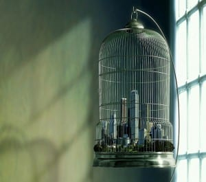 City in Iron Cage