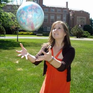 Julie Markham, Fulbright Scholar