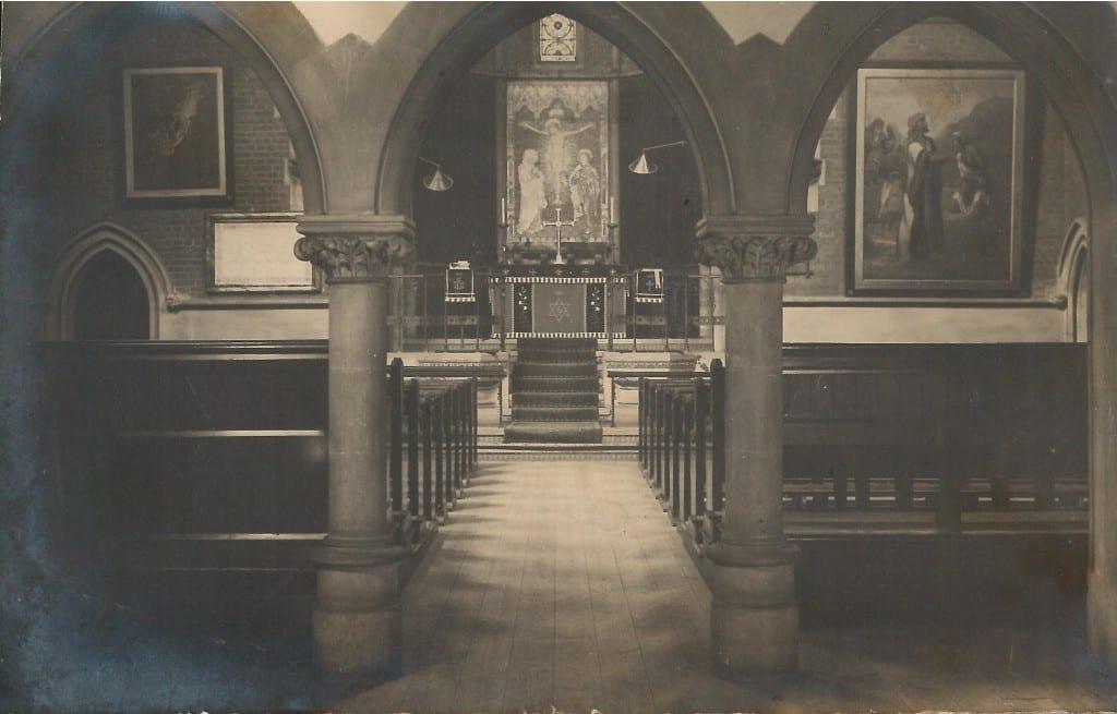 st. saviour's interior