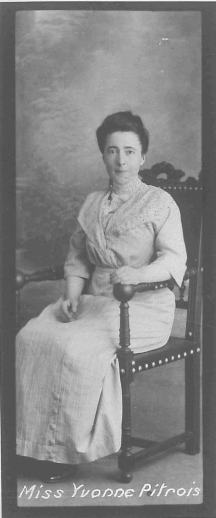 Yvonne Pitrois