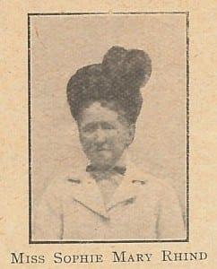 Sophie Rhind
