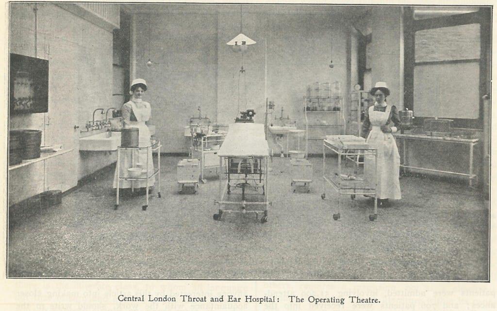 NTNEH operating theatre