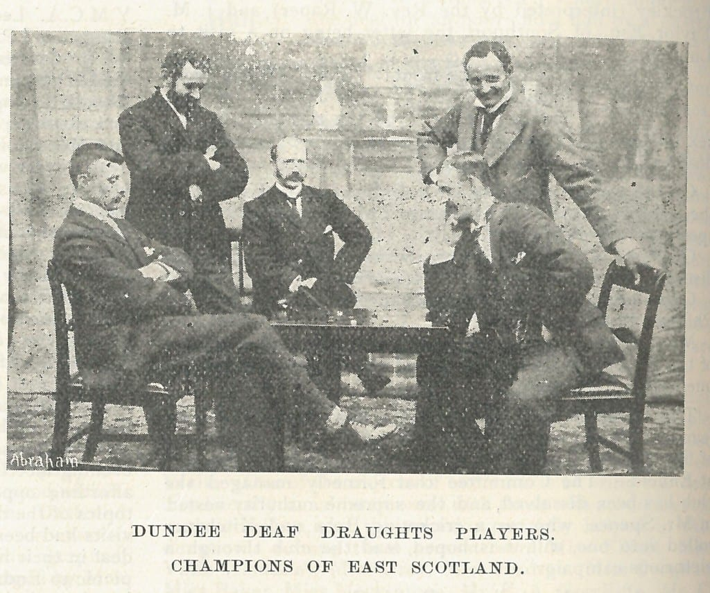 Dundee draughts 1900
