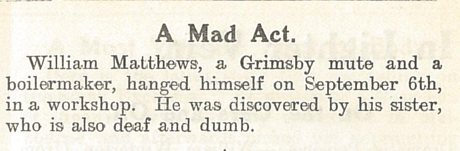 A Mad Act