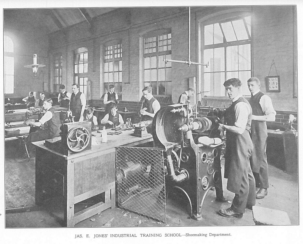 shoe making Stretford