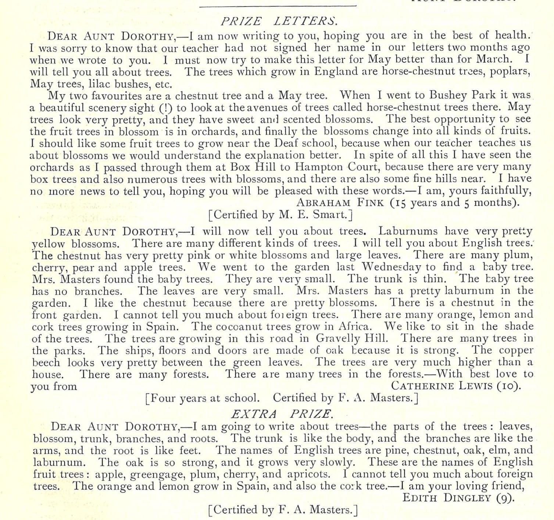 Fink letter