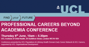 Professional Careers Beyond Academia Conference