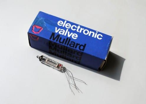 Mullard electronic valve