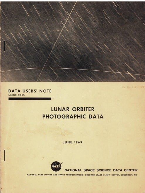 Lunar Orbiter Photographic Data