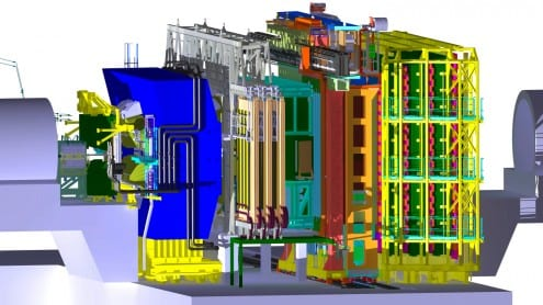 The LHCb experiment. Credit: CERN (licence)