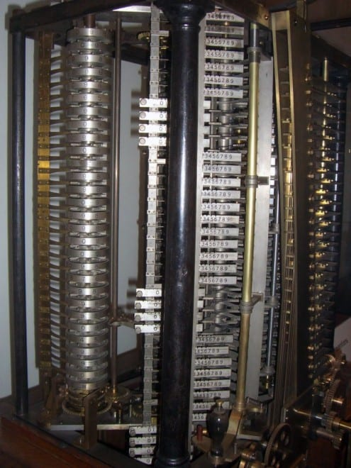 Babbage's Analytical EnginePhoto: Mirko Tobias Schaefer