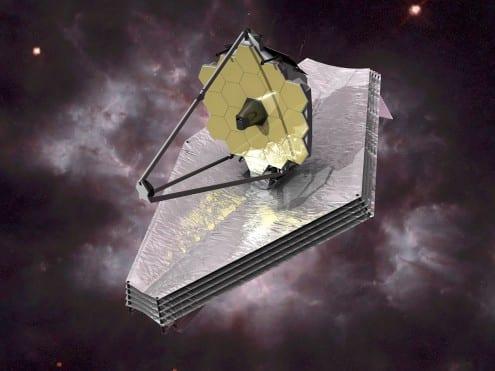 Artist's impression of the James Webb Space Telescope. Credit: ESA/C. Carreau